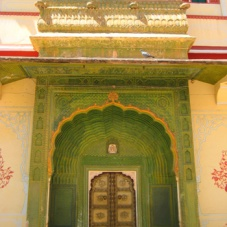 Jaipur Palace Doorway