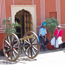 Jaipur Palace Guards
