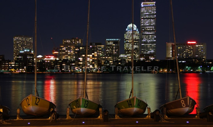Boston River Night