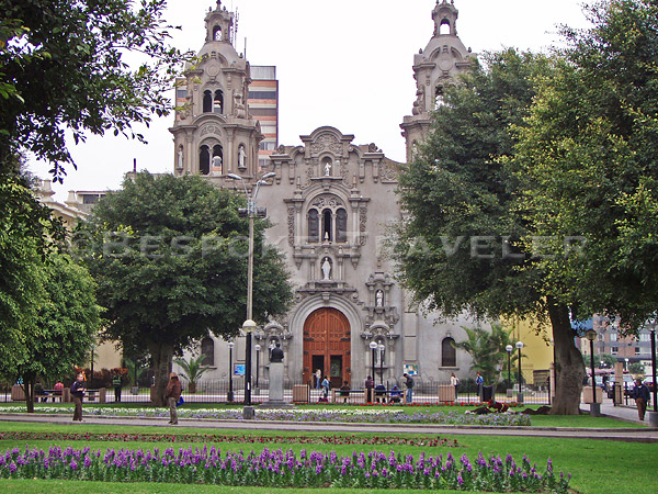 Lima Miraflores Catherdral
