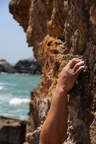 Rock Climb Hand