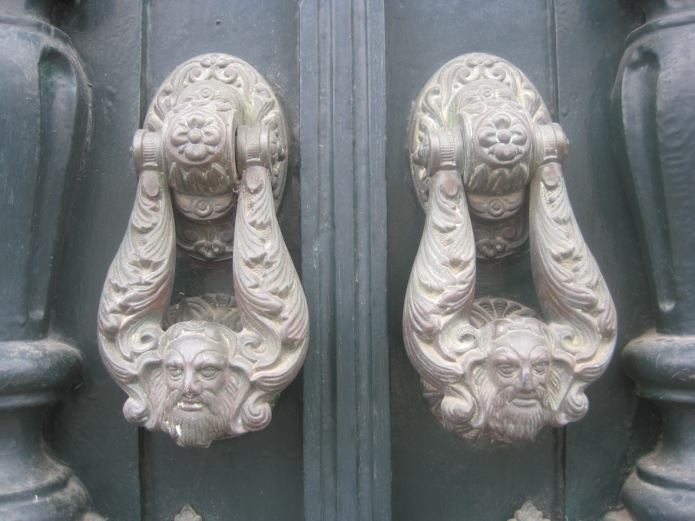 Algarve door knockers - Photo courtesy of Restless Jo