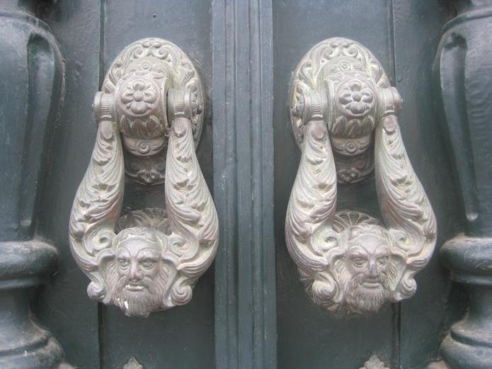 Algarve door knockers - Photo courtesy of Restless Jo