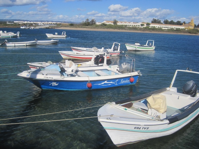 Looking Back at Tavira from ferry point - Photo courtesy of Restless Jo