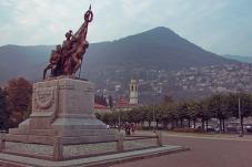 Lake Como Cernobbio Monument