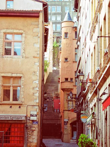 Lyon staircase
