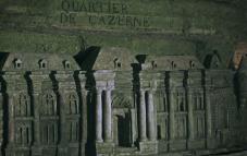 Paris catacomb relief