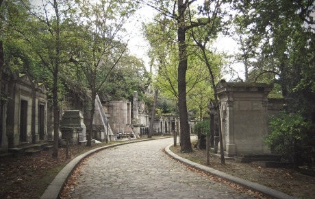 Père Lachaise avenue