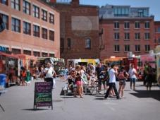 public market crowd