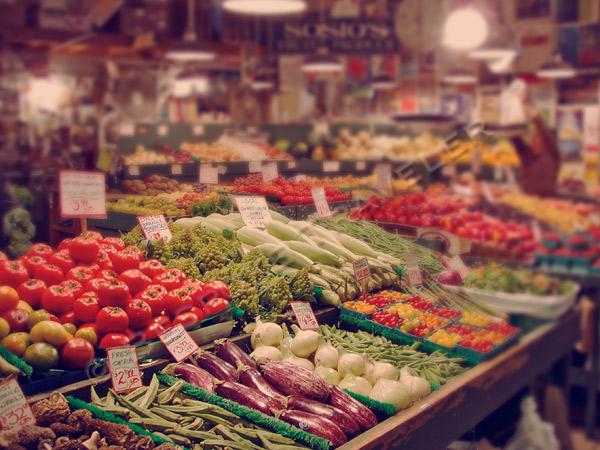 public market produce