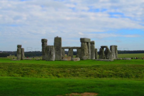 Stonehenge shift
