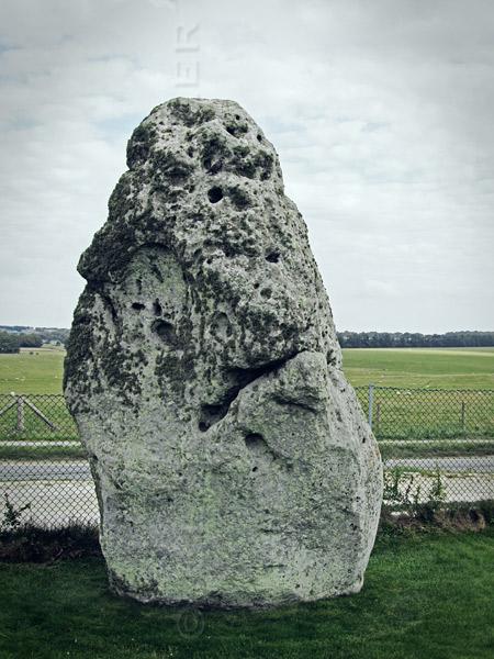 Stonehenge standing stone