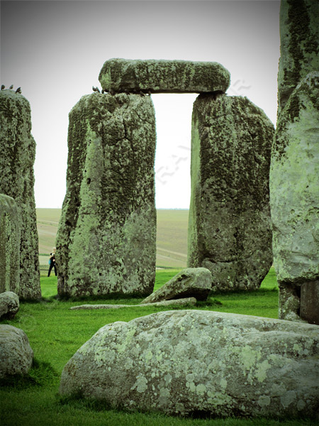 Stonehenge uprights