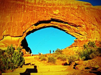 Arches view
