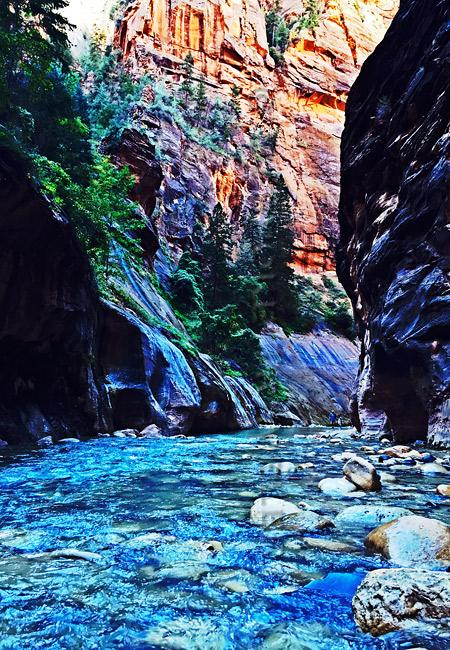 Zion-river