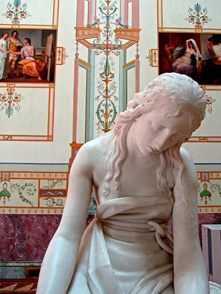 Hermitage-statue