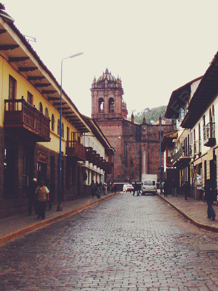 Cusco-street