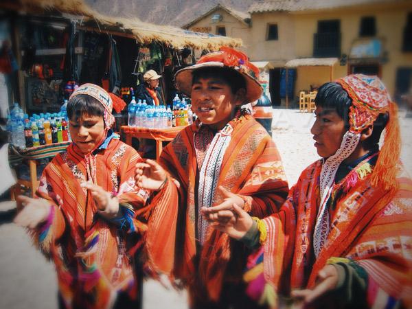 Ollantaytambo-boys