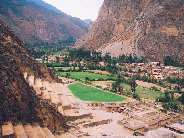 Ollantaytambo-valley