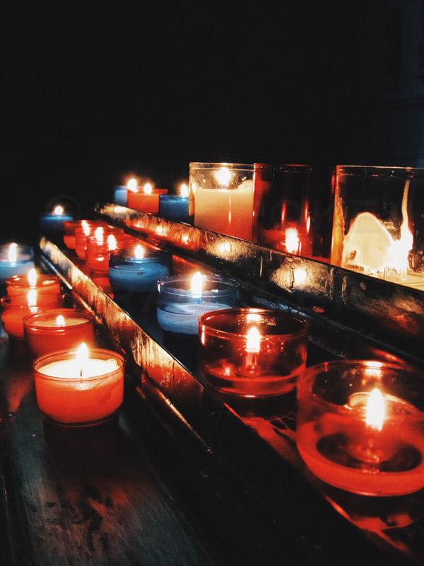 Sandwich-candles