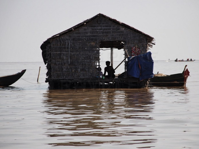 Tonle-Sap-hut
